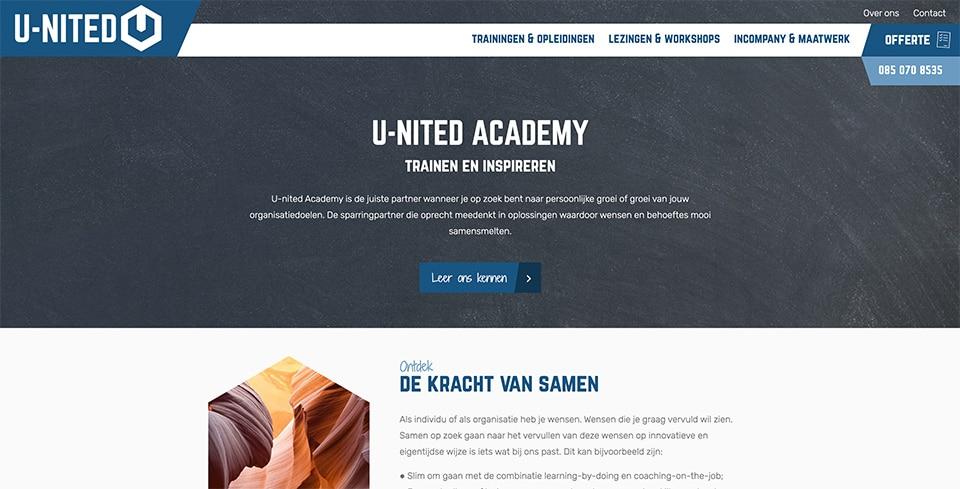 u-nited-academy-website-u-nited-detachering